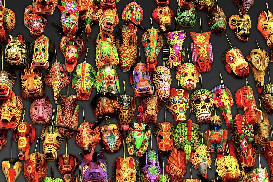 máscaras guatemaltecas