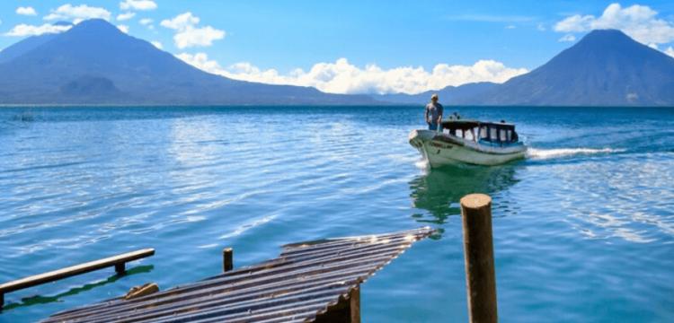 Visita el lago de Atitlán