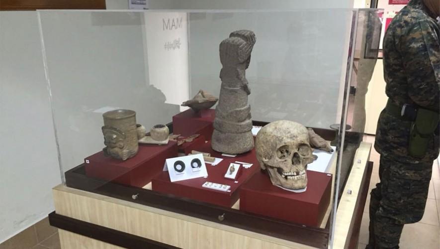 Vitrina del museo