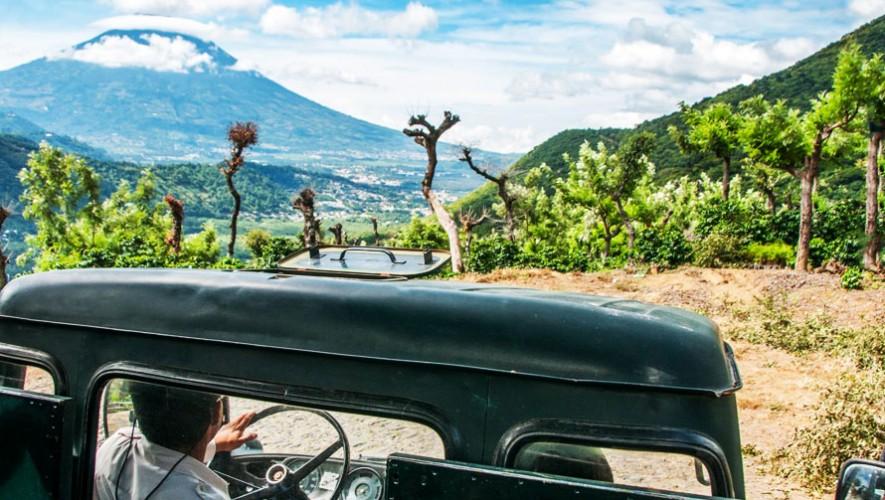 vista de un tour en guatemala