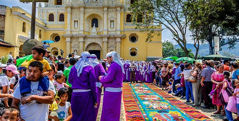 costumbres en Guatemala