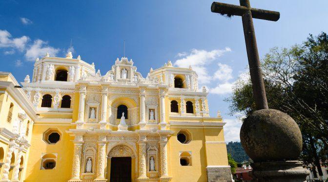 Convento de la Merced en Antigua Guatemala