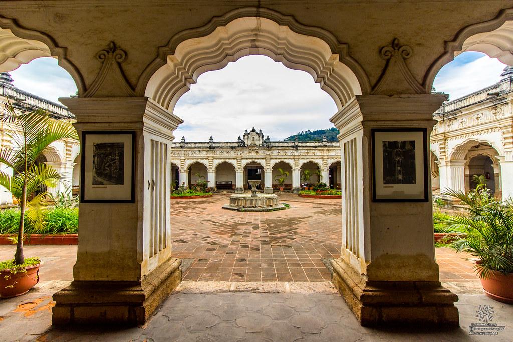Museo de arte colonial en Guatemala