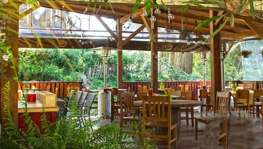restaurante de guatemala al aire libre