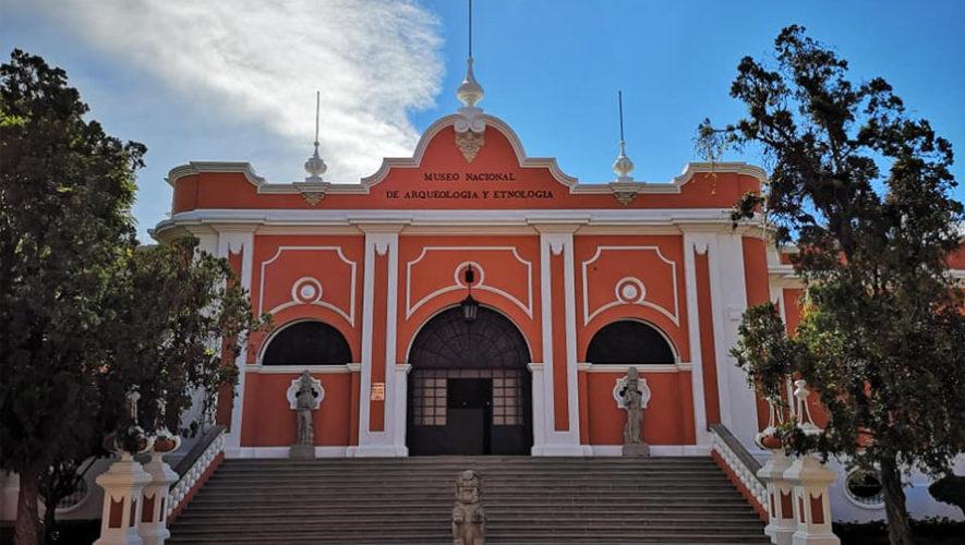 Museo nacional de arqueología en Guatemala