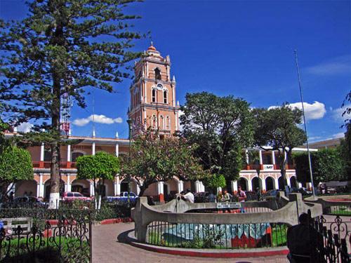 iglesia de Huehuetenango