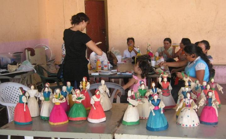 Artesanías de Uaxactún