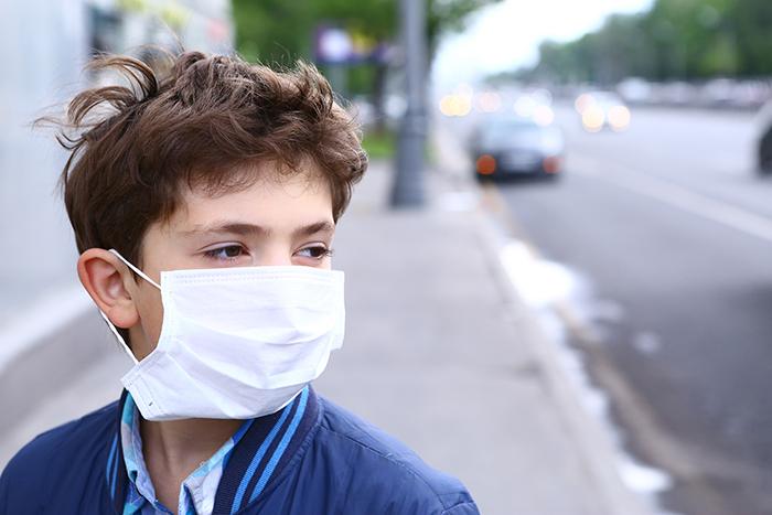 afecta la contaminación en los niños